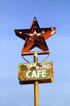 Star Cafe on Route 66, Texas