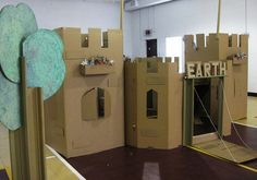 cardboard castle - Google Search