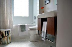 Curbly House Tour // Bathroom - After