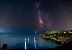 Milky Way from Elba Island Bay!