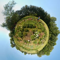 Polar panoramas, also known as stereographic projections or 'little planets', are spectacular images that are created out of panoramic photos.  While the effe