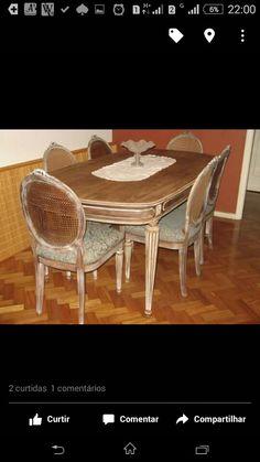 Pátina em outra mesa