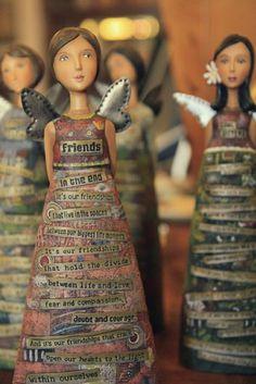 Engelfiguren-Sprüche-kreative-Idee