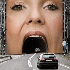 Dangerously Creative Billboard Ads