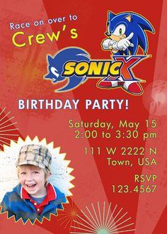Sonic X party