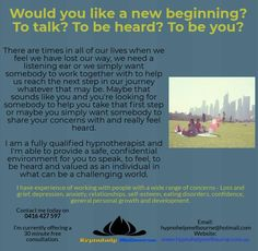 Reach your highest potential! Hypnotherapy, We Need, When Us, New Beginnings, Our Life, Clinic, Melbourne, Good Things, Feelings