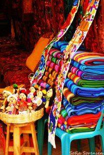 Colorful Panajachel, Guatemala, Centro America