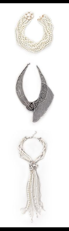 Wedding necklaces - which is your fave?