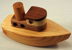 wooden toy boat - Google Search