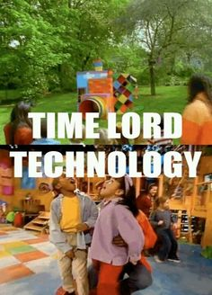 My childhood was training me to be a Whovian...