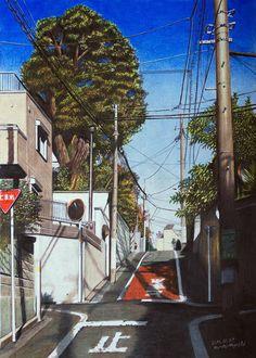 記事提供:CuRAZY こちらの、本物と見間違えるほどの風景画。なんと全て色鉛筆だけで描かれています。 作者は東京都を中心に活動されている色鉛筆画家の林亮太さん。