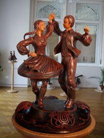 A MAGYAROK TUDÁSA: A TÁNC - A MAGYAR NÉPTÁNCOK Hungarian Women, Heavy Metal Art, We Will Rock You, Custom Buttons, Sculptures, Candle Holders, Miniatures, Puppies, Statue