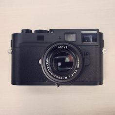 Camera pr0n: #Leica M Monochrom + Apo 50mm f/2.0 ASPH Summicron.