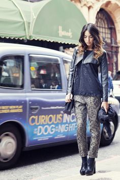 Chic super chic  #london #outfit #chic #chiarabiasi #testimonial #maisonespin #outfit #fallwinter13 #fashionblogger#womancollection #lovely #MadewithLove #romanticstyle #milano#clothing #shopping #iloveshopping