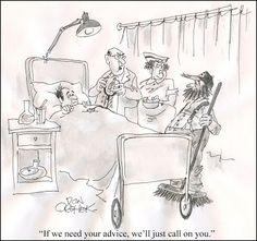 Don Orehek Cartoons. Regents Publishing Co. Hospital Cartoon, Medical Humor, Cartoons, September, Advice, Doctor Humor, Cartoon, Tips, Cartoon Movies