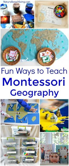 20+ Ways to Teach Montessori Geography Kids Will Love, Montessori Activities, Montessori Geography Shelf, Montessori Preschool, Montessori Toddler, Montessori Curriculum #Montessori