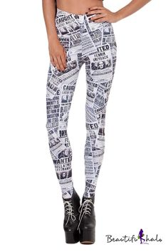 Another Harry Potter print legging, because there's no such thing as too much of this. $8.10 #beautifulhalo
