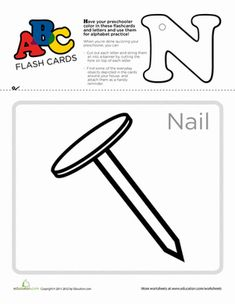 Use these flashcards to practice the ABC's, cut out and punch a hole at the top of each letter, and string them up to serve as a vibrant teaching tool. Writing Worksheets, Preschool Worksheets, Literacy Activities, Printable Worksheets, Learning Resources, Teaching Tools, Kids Learning, Alphabet Charts, School Information