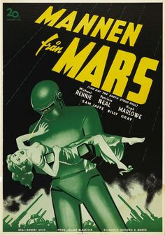 Classic Movie Posters Prove that Everything Is Better in Swedish -- The Day The Earth Stood Still (1951)