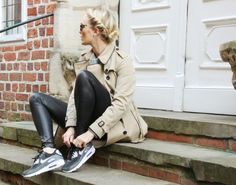 sports shoes 1af6f 39fa6 nie wunschfrei  Herbst-Outfit mit Dämpfung  Burberry   Nike Air Max 90 Nike