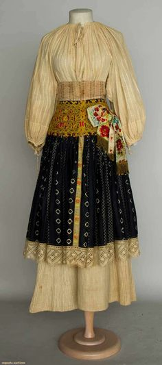 Augusta Auctions, April 17, 2013 - NYC: Regional Dress, Slovakia, 1875-1900