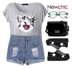 """""""Newchic 4"""" by hungry-unicorn ❤ liked on Polyvore"""