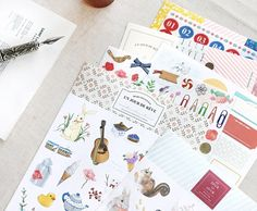 Diary Deco Pack ver. 5 // Labeling Sticker Pack // Scrapbooking embellishment // DIY essentials