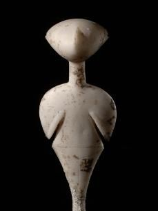 Female figurine: The Stargazer, circa 3000 BCE Early Bronze Age, Western Anatolia? Ancient Goddesses, Art Ancien, Art Antique, Art Premier, Cleveland Museum Of Art, Cleveland Ohio, Art Sculpture, Ancient Artifacts, Historical Artifacts