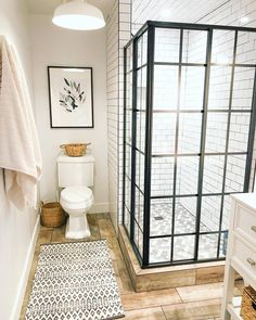 Beautiful master bathroom decor tips. Modern Farmhouse, Rustic Modern, Classic, light and airy master bathroom design tips. Bathroom makeover some ideas and bathroom remodel tips. Bathroom Layout, Bathroom Interior Design, Bathroom Ideas, Bathroom Organization, Bathroom Storage, Tile Layout, Shower Ideas, Bathtub Ideas, Restroom Design