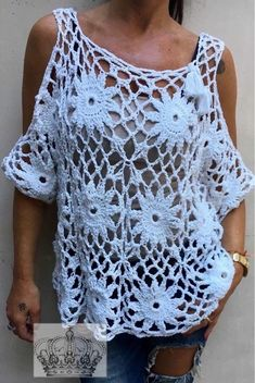 Captivating Crochet a Bodycon Dress Top Ideas. Dazzling Crochet a Bodycon Dress Top Ideas. Crochet Bolero Pattern, Crochet Motifs, Crochet Tunic, Crochet Jacket, Crochet Clothes, Knit Crochet, Crochet Patterns, Tunic Pattern, Knit Art