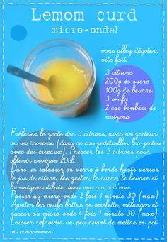 Tambouille» Lemon curd micro-onde