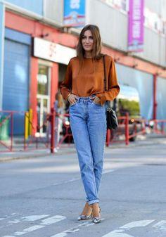 jeans da mãe