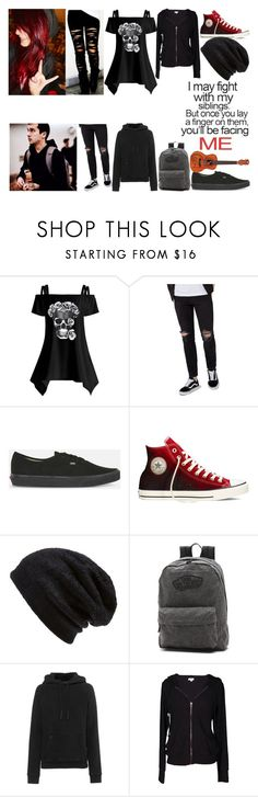 """""""Private Role Play"""" by emo-music-lover ❤ liked on Polyvore featuring Topman, Tripp, Vans, Converse, Barefoot Dreams, adidas Originals, Velvet by Graham & Spencer and Sibling"""