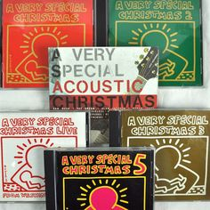 A Very Special Christmas 6 CD Lot Vols 1-5 Live Acoustic Rock Dance 1987-2003 #christmas #christmasmusic #christmascd