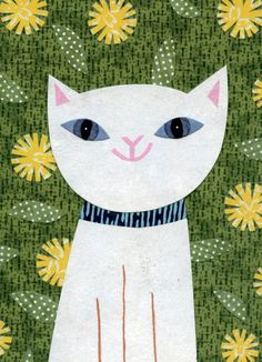 Parkside Paper   Gift - Notecards - Pretty Kitty