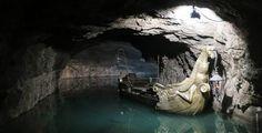 Visita la cueva Seagrotte y su fantástico lago - http://www.absolutaustria.com/visita-la-cueva-seagrotte-y-su-fantastico-lago/