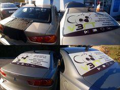 Création, impression, installation d'un micro-perf pour la vitre arrière de votre véhicule d'entreprise. http://v3rt.fr/publicite-pour-vitre-arriere/