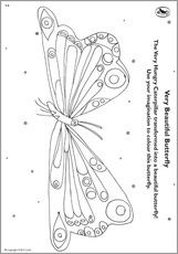 The Very Hungry Caterpillar Coloring Pages Printables