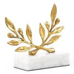 Bungalow 5 Olive Statue - Gold