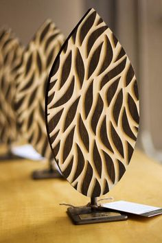 , Swarm Patterns in Wood , Natural patterns depicted through art are known to reduce anxiety. These wood engraved tabletop sculptures, designed by Susie Frazier, deliver their o. Wall Art Designs, Wall Design, Patterns In Nature, Wood Patterns, Organic Art, Wood Engraving, Better Together, Natural World, Mammals