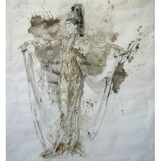 """""""CONVERSACION DE SEDA Y AIRE""""  (by: Luis Royo & Romulo Royo).  (Artist: Luis Royo)  [Artist homepage: www.LuisRoyo.com]"""
