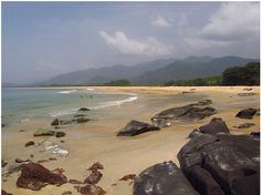 Bureh Beach, Sierra Leone. One of the prettiest and most breathtaking beaches, ever. It's my favorite place.