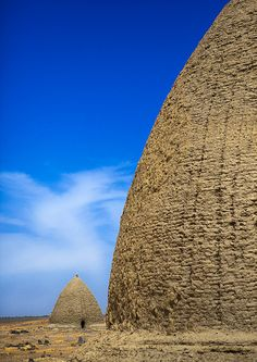 Beehive Tombs, Old Dongola, Sudan by Eric Lafforgue on Flickr.