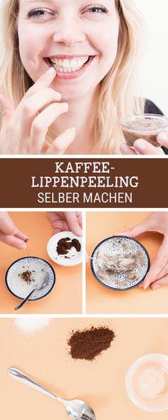 Beauty-DIY: Peeling für Deine Lippen aus Kaffee, wir zeigen Dir, wie es geht / beauty inspiration: softer lips with a coffee peeling, learn how to do it via DaWanda.com