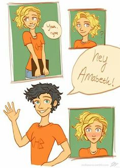 The moment Annabeth realized she loved percy