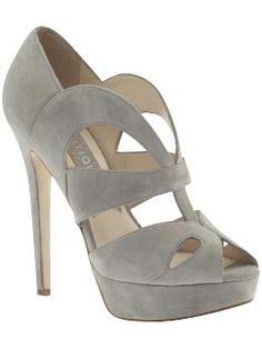 Boutique 9 Grey heels. Possible bridesmaid shoe