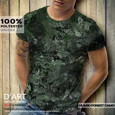 HUMID FOREST CAMO... #camo #camouflage #forest #woods #wilderness #humid #jungle #leaves #trees #abstract #organic #nature #shapes #tshirt #unisex #shirt #casual #urban #formen #armycamo #liveheroes #digitalartcreations
