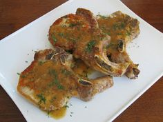 Smitten Kitchen Pork Chops with Cider, Horseradish, and Dill