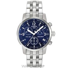 Mens Tissot PRC200 Chronograph Watch T17158642