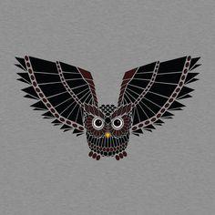 Great geometric owl
